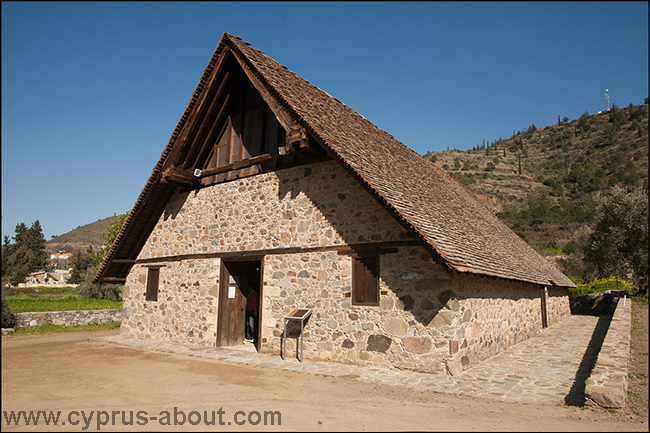 Церковь Панагии Подиту в Галате, Кипр