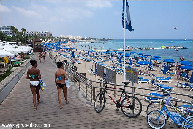 Фото пляжа фиг три протарас 78